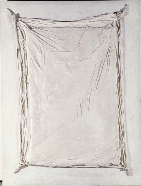 Tàpies, Gran llençol, 1968