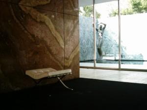 Mies van der Rohe pavilion, Barcelona