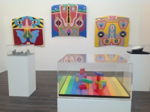 Booth by Judy Chicago, Riflemaker gallery, Frieze Masters 2013