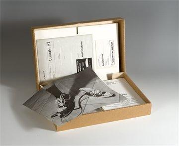 Art & Project Bulletins Box © 20th Century Art Archives, Cambridge, UK