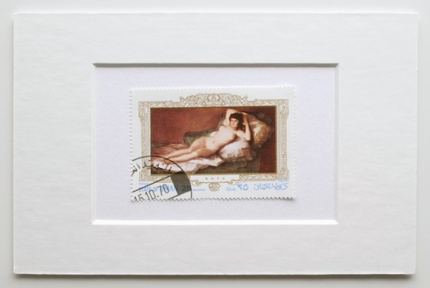 Hans-Peter Feldmann, Stamps with Paintings, 2014