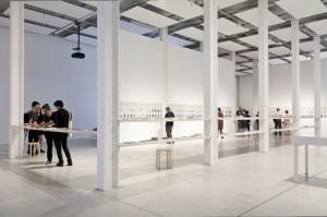 Vista general de la exposición Epílogo. The Book Lovers Fabra i Coats Centre d'art contemporani de Barcelona Foto: Eva Carasol