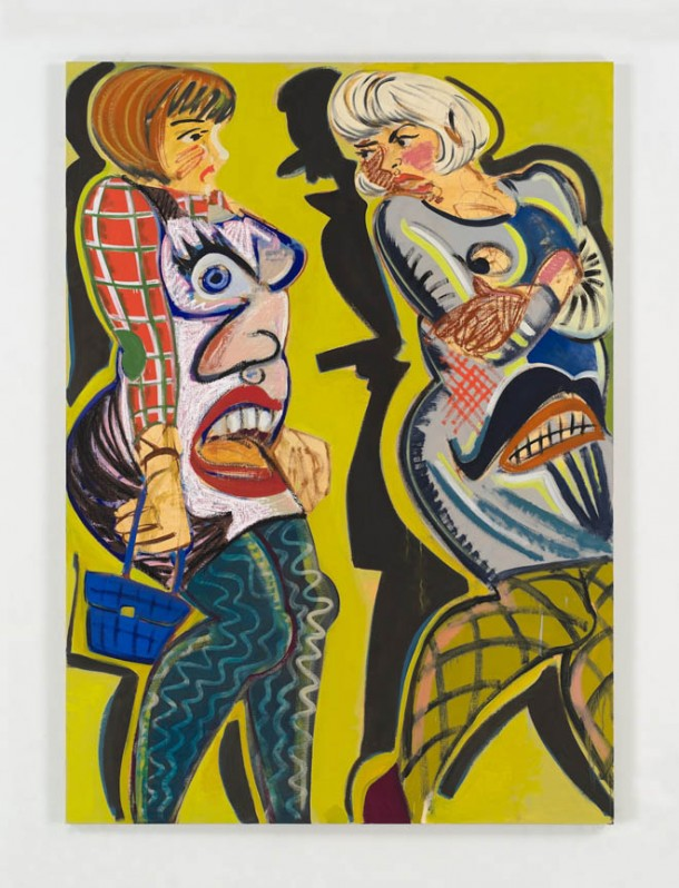 Criminal Stickup in Yellow, Ella Kruglyanskaya, 2012