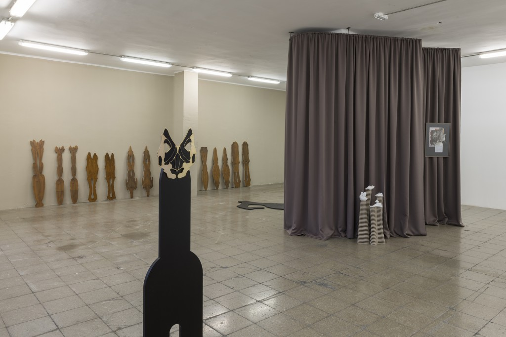 Exhibition view, Belén Zahera.